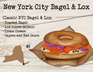 New York City Bagel and Lox
