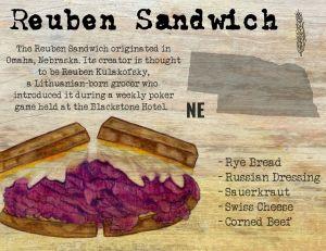 Reuben Sandwich from Nebraska
